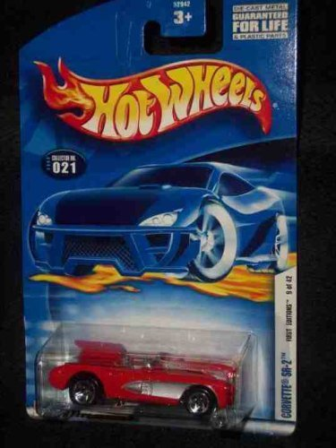 2002 First Editions #9 Corvette SR-2 #2002-21 Collectible Collector Car Mattel Hot Wheels - 1
