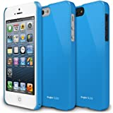 [LF Blue] Apple iPhone 5 Ringke SLIM LF Premium Hard Case [AT&T, Verizon, Sprint, Unlocked] - Rearth ECO Package