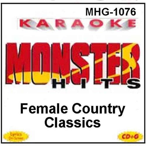 DOLLY PARTON - Monster Hits Karaoke #1076 - Female Country Classics - Zortam Music