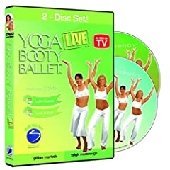 Yoga Booty Ballet 2-Disc Set: Light & Easy / Latin Flavor
