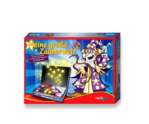 Noris 606321165 - Meine große Zauberwelt, Kinderspiel hergestellt von Noris Spiele Gmbh