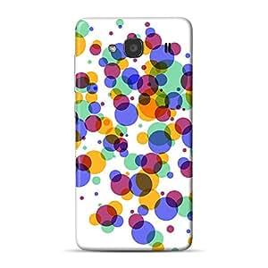 INKIF Cute Monster Designer Case Printed Mobile Back Cover for Xiaomi Redmi 2S (Multicolor)