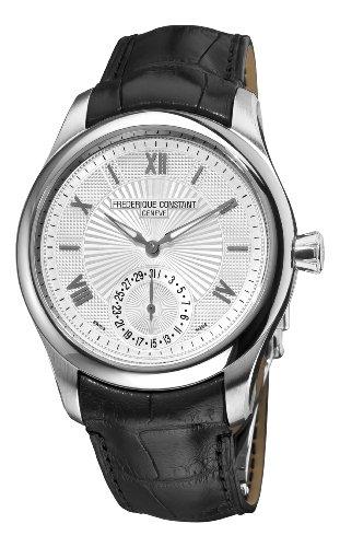 Frederique Constant Men's FC-700MS5M6 Maxime Manufacture Automatic Silver Roman Numerals Dial Watch