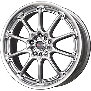 Drag DR 47 Silver Wheel with Machined Lip Finish (17×7″/4x100mm)