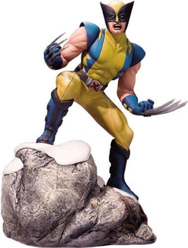 Buy Low Price Corgi Marvel Diecast Wolverine 1/12 Scale Statue Figure (B0015MG2UO)