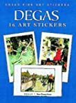 Degas: 16 Art Stickers