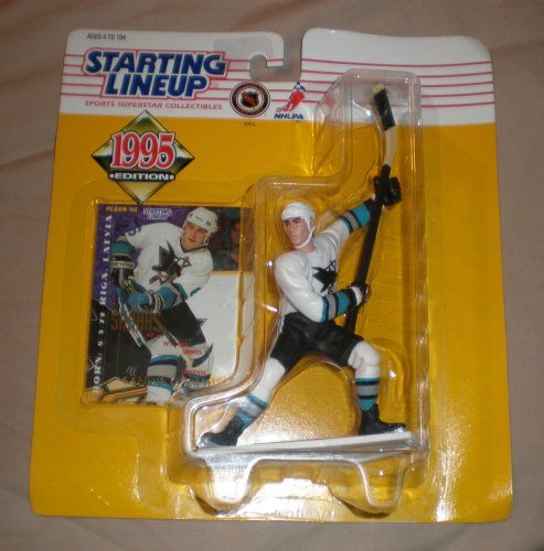 1995 Sandis Ozolinsh NHL Starting Lineup Figure - 1