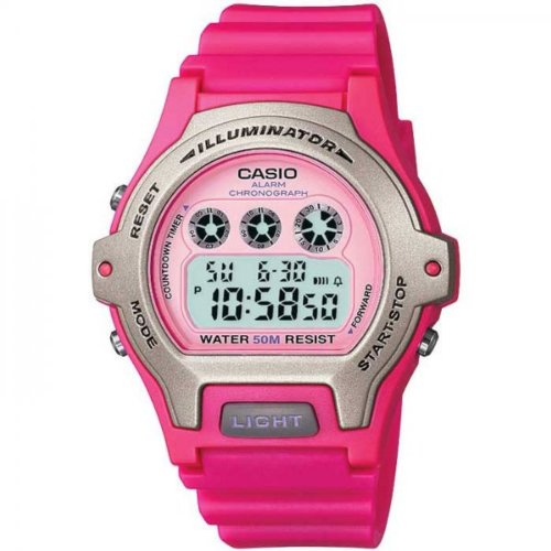 Casio Ladies Digital Watch LW-202H-4AVEF With Resin Strap