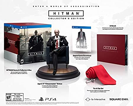Hitman Collector's Edition - PlayStation 4