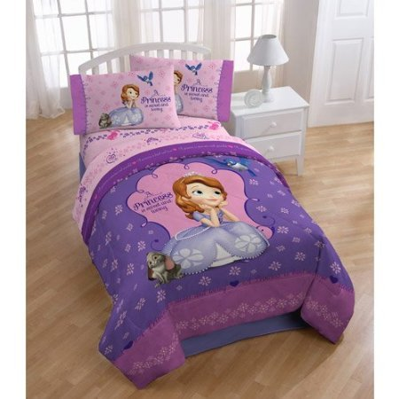 Disney Sofia The First Graceful Full Sheet Set (Girls Sheets Full compare prices)