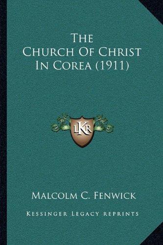 The Church of Christ in Corea (1911)