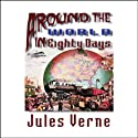 Around the World in Eighty Days Audiobook by Jules Verne Narrated by Frederick Davidson