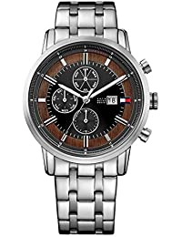 Tommy Hilfiger Analog Black Multi- Dial Watch For Men-TH1791248