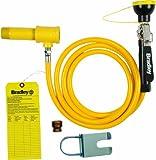 Bradley S19-430SH Drench Shower Hand Held Hose Spray Retrofit Kit, Yellow