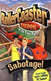 img - for Roller Coaster Tycoon 2: Sabotage! by Shane Breaux (2002-09-30) book / textbook / text book