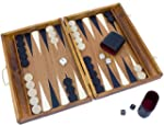 Albatros wooden backgammon medium * e...