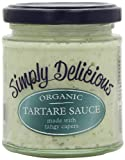 Simply Delicious Organic Tartare Sauce 180 Ml (Pack of 6)