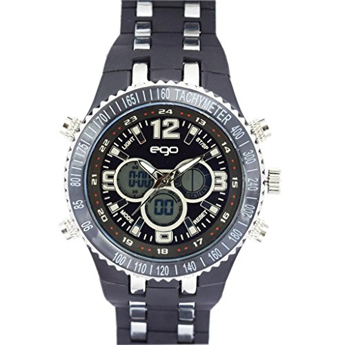 maxima ego analog digital black men s e