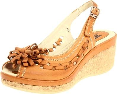 Spring Step Women's Lolita Sandal,Medium Brown,35 M EU / 5 B(M)