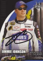 Jimmie Johnson Autographed/ Hand Signed Nascar Trading Card -