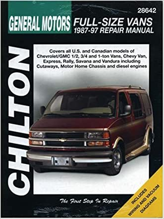 Chevrolet Vans, 1987-97 (Chilton Total Car Care Series Manuals)