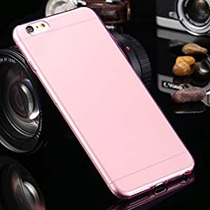 Iphone 6/6s,technologyx, Tpu Transparent Clear Skin Case Cover (Pink)