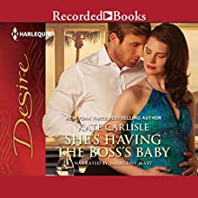 She's Having the Boss' Baby (       UNABRIDGED) by Kate Carlisle Narrated by Madeleine Maby