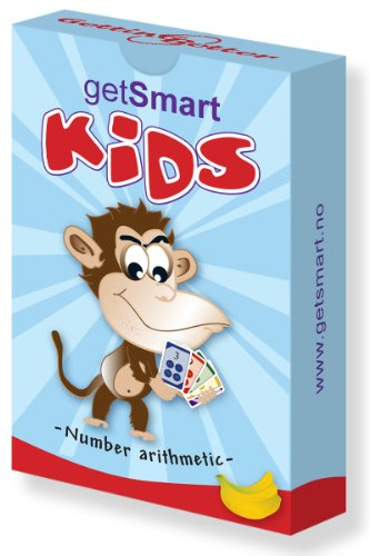 #1 Cool Math Games For Kids - Get Smart Multiplication Arithmetic Addition Subtraction - Playing Cards Set - Free Learning Activities - Travel Homeschool Kindergarten Elementary Middle Secondary High School - First 2Nd 3Rd 4Th 5Th 6Th Graders - Books Educ back-187905