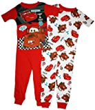 Disney Cars Toddler Boys 4 Pc Cotton Pajama Set