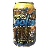 Malta Polar Lata Can 6 PACK 12 oz (Tamaño: 12 oz)