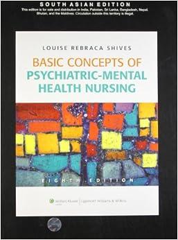Lippincotts interactive case studies in psychiatric mental health nursing