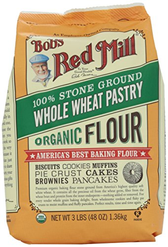 Bob's Red Mill Organic Whole Wheat Pastry Flour, 48 Ounce (Whole Wheat Baking compare prices)