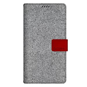 ARAREE Neat Diary Case for Galaxy Note 4 - Retail Packaging - Cashmere Sod