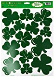 Shamrock Clings Party Accessory (1 count) (14 Sh)