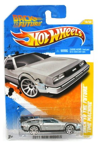 Hot Wheels 18/50 Back to the Future Time Machine Die-Cast