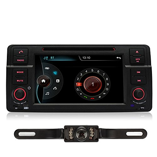 Pumpkin-7-Zoll-1-Din-Autoradio-Moniceiver-Naviceiver-DVD-Player-fr-BMW-E46-M3-318-320-325-330-335-1998-2006-mit-Touch-Screen-Untersttzt-GPS-Navigation-Bluetooth-Lenkradfernbedienung-USB-iPod-mit-Rckfa