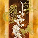 All-a-Flutter II By Loreth, Lanie - Fine Art Print On CANVAS : 23.5 X 23.5 Inches