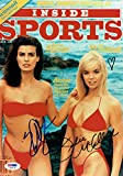 Julie McCullough/Kristian Alfonso Signed Inside Sports 8x11 Photo PSA/DNA#X99124