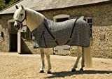 Rhinegold Overcheck Box Weave Cooler Horse Rug