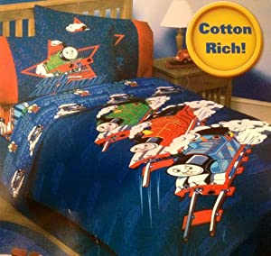 Thomas the Train Twin Comforter - Full Steam Ahead
