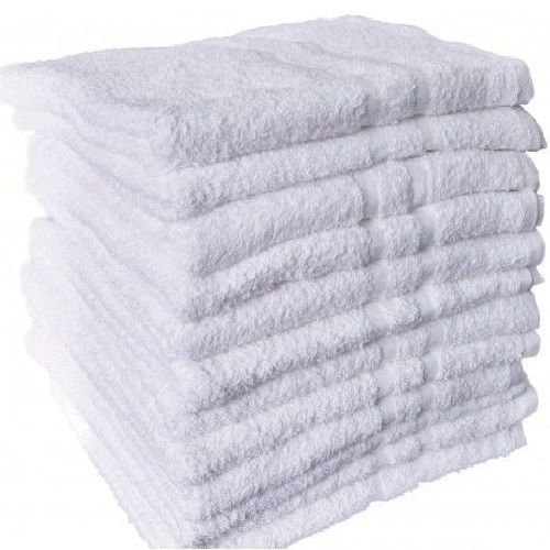 12 NEW WHITE COTTON HOTEL HAND TOWELS 16X27 ROYAL REGAL BRAND (Hotel Royal New compare prices)