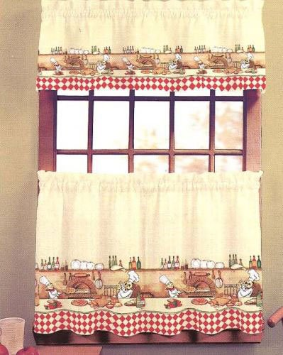 Fabulous Chef Kitchen Curtains and Valances 399 x 500 · 50 kB · jpeg