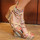 Getmorebeauty-Womens-Wedge-Pearls-Across-The-Top-Platform-High-Heels