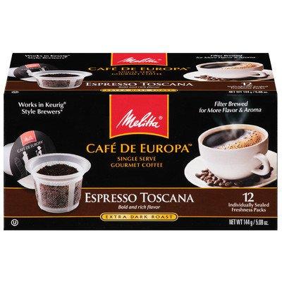 Espresso Toscana Hard Pod Coffee (Set Of 12)