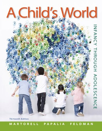 A Child'S World: Infancy Through Adolescence front-837320