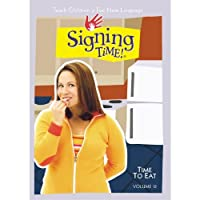 Signing Time Series 1 Vol. 12 - Time to Eat