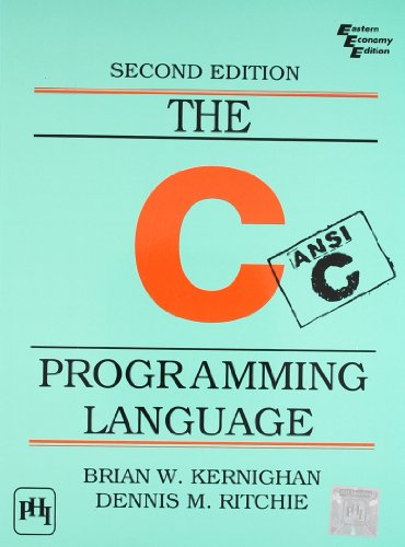 The C Programming Language : Ansi C Version 2 Edition price comparison at Flipkart, Amazon, Crossword, Uread, Bookadda, Landmark, Homeshop18