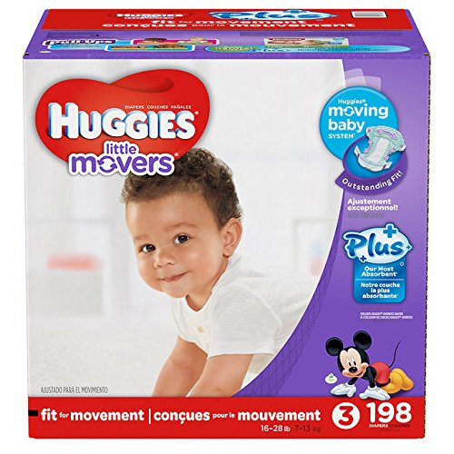 huggies-little-movers-plus-taille-3-198-lot