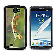 buy Msd Samsung Galaxy Note 2 Aluminum Plate Bumper Snap Case Waiting For My Lover Chestnut Headed Bee Eater Merops Leschenaulti On A Branch Image 21266804