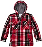 Levis Boys 8-20 Brushed Plaid Hooded Jacket